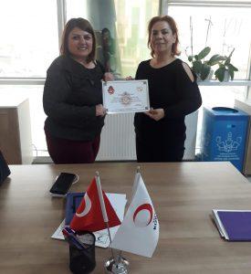 Kızılay Kadın kolları Başkanı Sn. Sultan Avcı ÜNAL