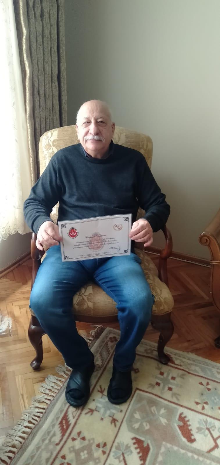 Osman Nurcan Ulusan. T. C DDY 2.bölge md. İş adamı